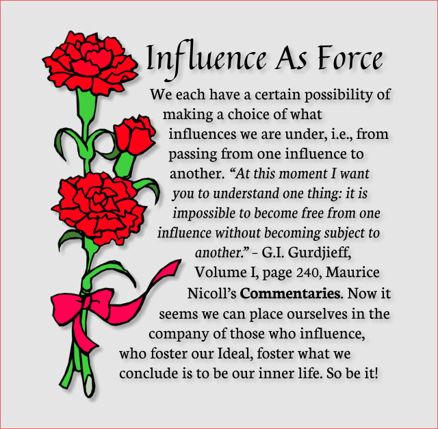 Influence As Force 2