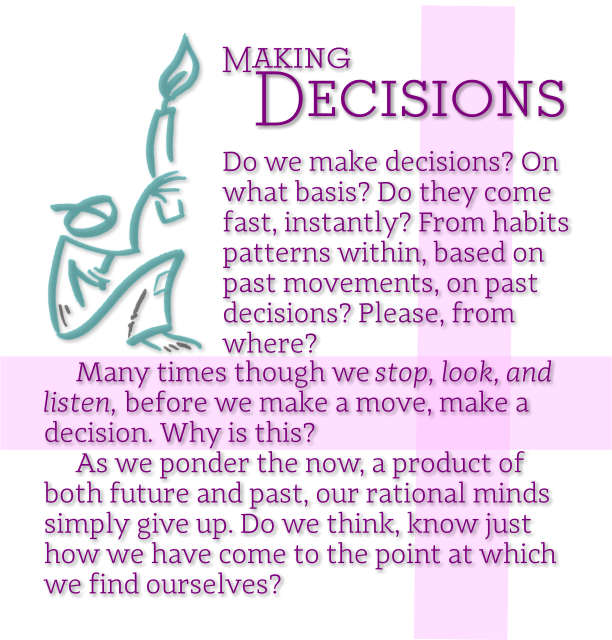 Making Decisions 2