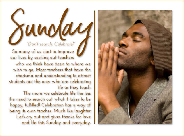 Sunday 2