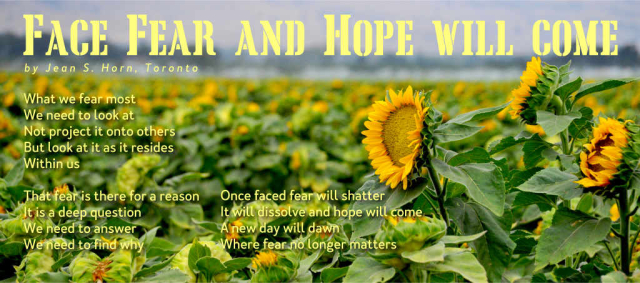 Face Fear and Hope Will Come 2