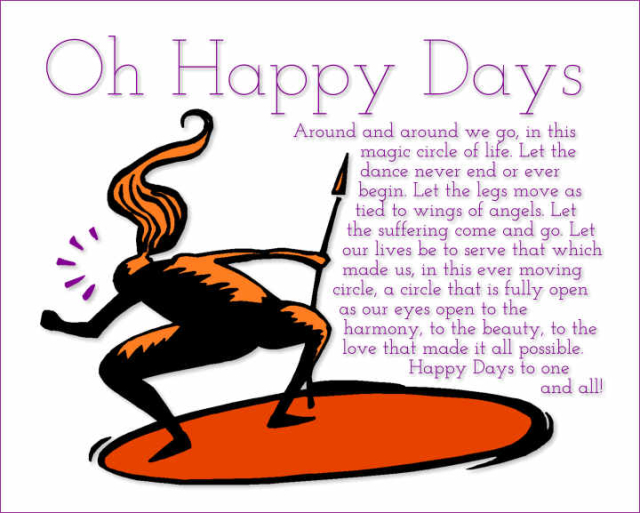 Oh Happy Days 2