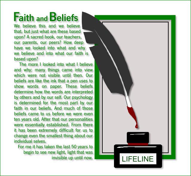 Faith and Beliefs 2