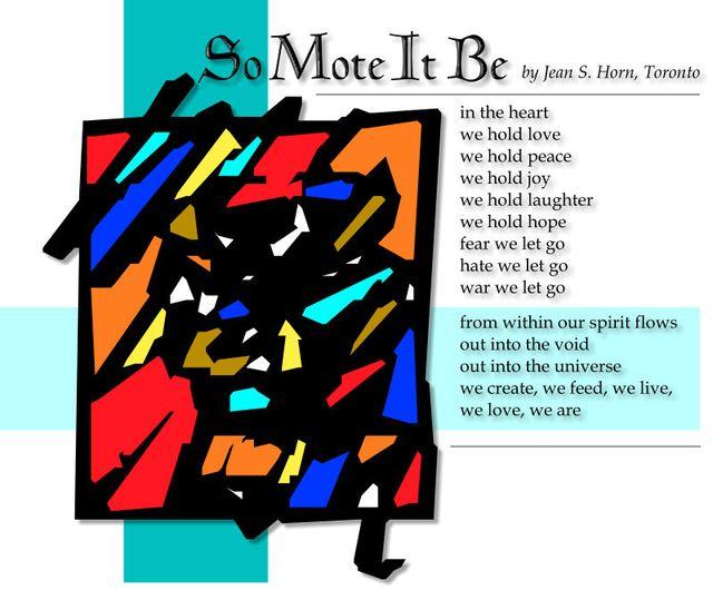 So Mote It Be 2