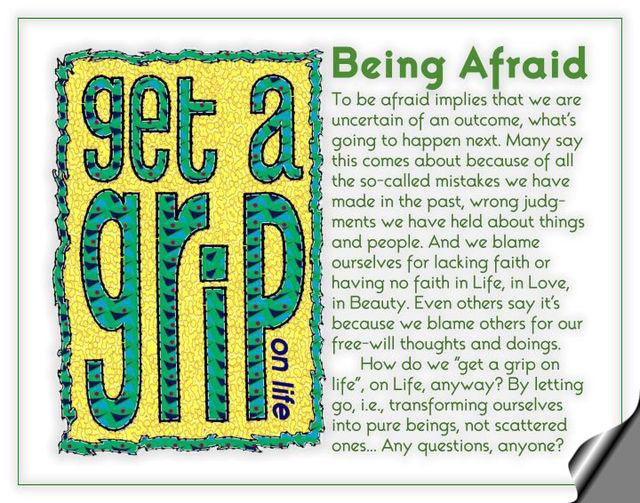 Being Afraid 2a