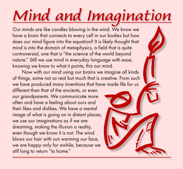 Mind and Imagination 2