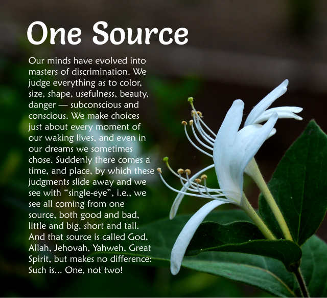 One Source 2