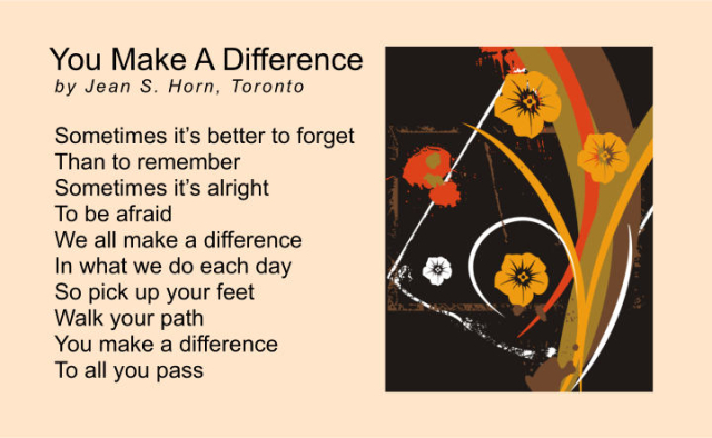 You Make A Difference 2